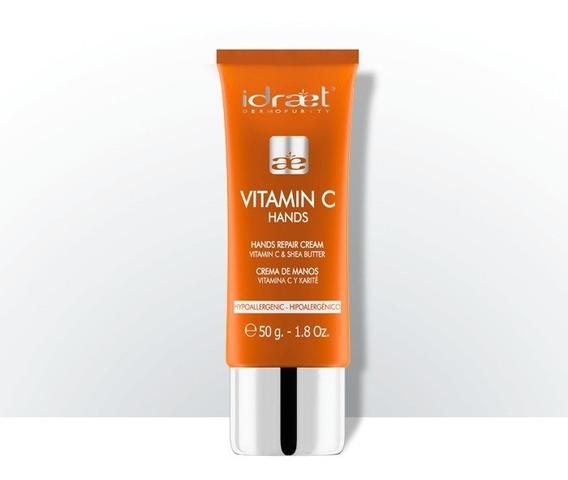 Vitamina C Hands Crema Para Manos Idraet Karité Nutritivo