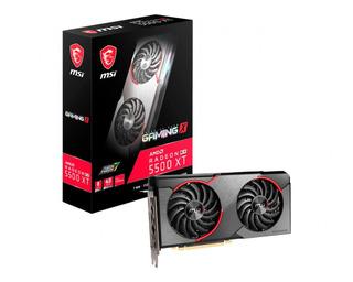 Placa De Video Msi Amd Radeon Rx 5500 Xt Gaming X 8g