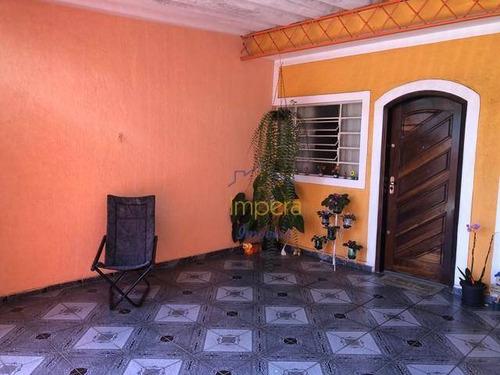 Casa Com 2 Dormitórios À Venda, 90 M² Por R$ 225.000,00 - Jardim Santa Fé - São José Dos Campos/sp - Ca0202
