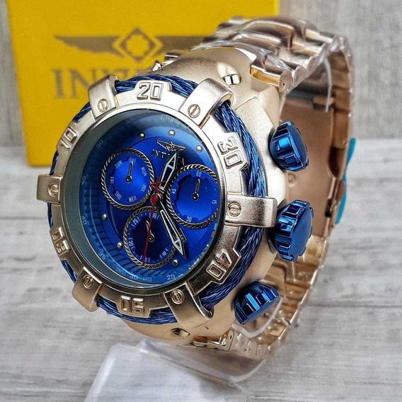 Relógio Masculino Thunderbolt Gold Pesadão