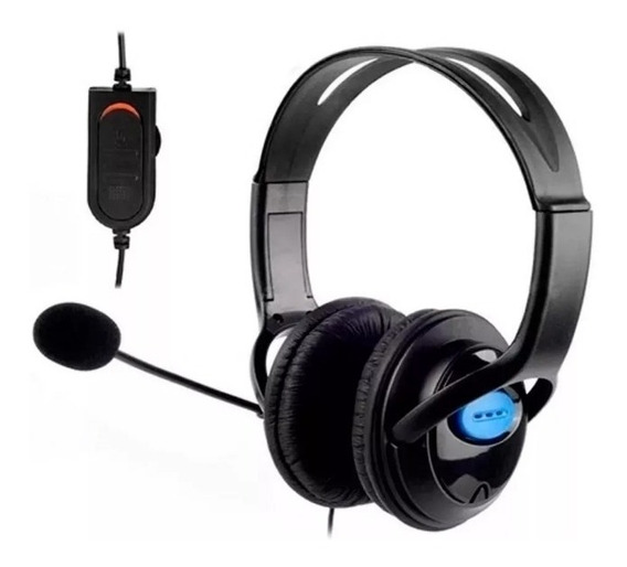 Headset Gamer Fone Ouvido Microfone Ps4 Xbox One 100% Nf