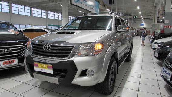 Toyota Hilux Cd 4x4 Std Mecânico Ano 2012