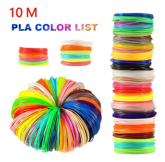 3d Pen 10 Medidor Pla 1.75mm Impressora 3d Filamento Materia