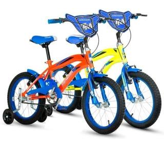 Bicicleta Top Mega Rodado 16 De Niño