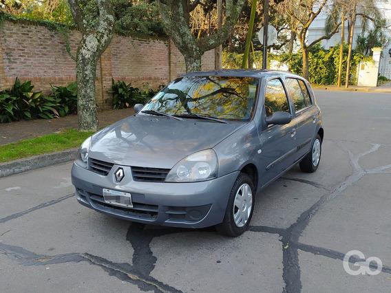 Renault Clio 1.2 Pack Plus 5 Puertas 2009 Gris Excelente