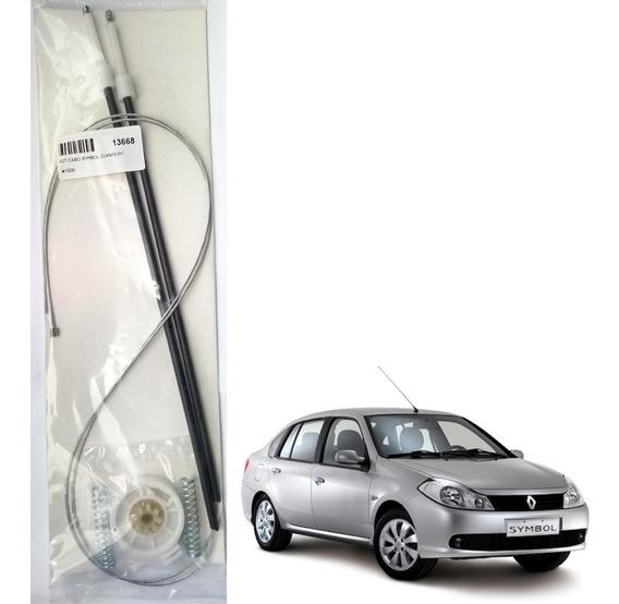 Kit Reparo Maquina Vidro Eletrico - Renault Symbol Dianteiro
