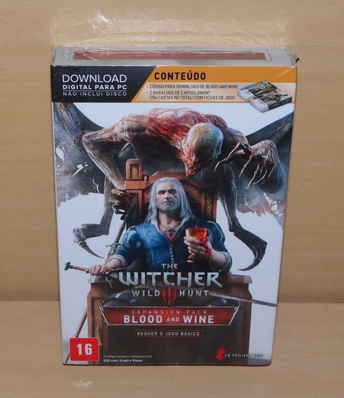 The Witcher Iii 3: Wild Hunt Blood And Wine - Lacrado - Pc