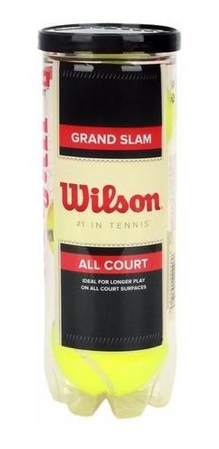 Pelotas Tenis Wilson Grand Slam 100% Bolas Original