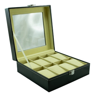 Caja Organizadora 8 Relojes Excelente Calidad Guardar