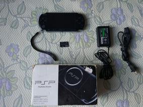 Psp Slim 3010 Desbloqueado Emuladores 4gb Na Caixa Usado