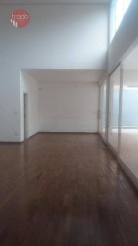 Casa Com 4 Dormitórios Para Alugar, 404 M² Por R$ 12.000/mês - Jardim Sumaré - Ribeirão Preto/sp - Ca3090