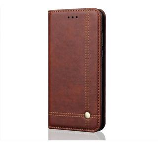Capa Xiaomi Mi 9 Couro Luxo Vintage Cartões Carteira Suporte Proteção Mi9 Xiaomi9 Suporte 45 º Fechamento Magnético