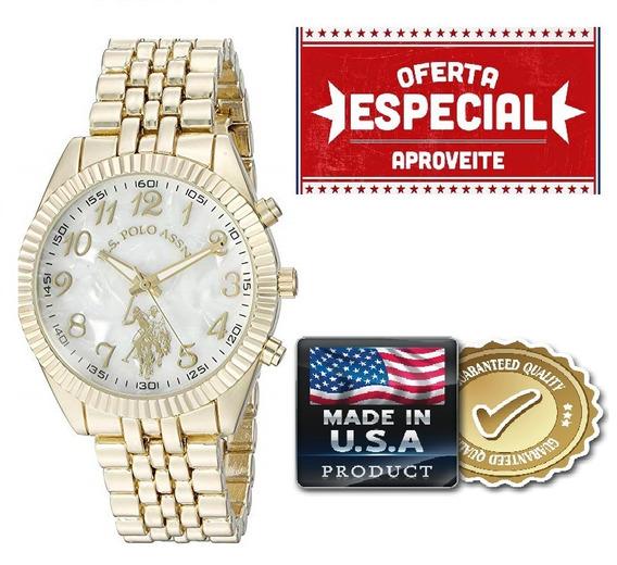 Relógio Feminino U.s Polo Assn. Original Usc40097