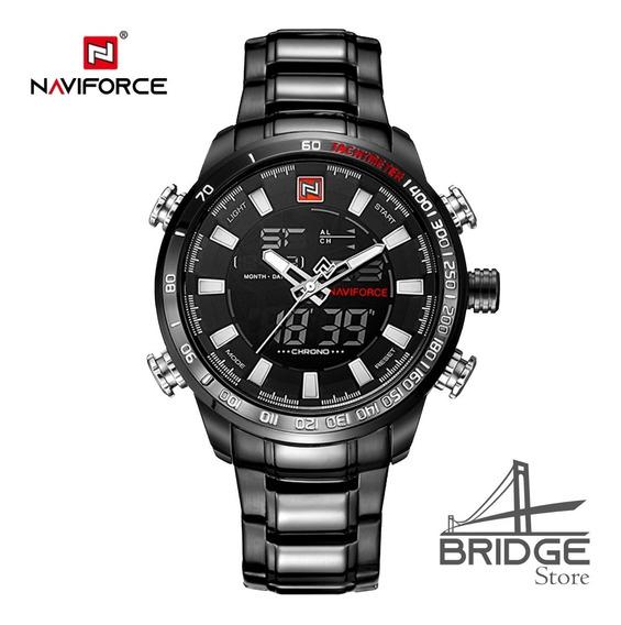 Relógio Masculino Naviforce 9093 Original Esportivo Elegante