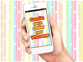 Convite Virtual Animado Para Whatsapp Todos Os Temas
