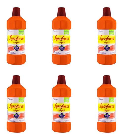 Lysoform Bruto Desinfetante 1 L (kit C/06)