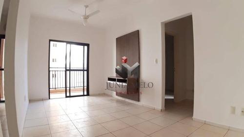 Para Alugar Por R$ 1.200 Apartamento Com 2 Dormitórios , 70 M² /mês - Nova Aliança - Ribeirão Preto/sp - Ap3637