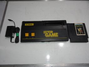 Hi Top Game Milmar Nes Só Console Fonte Fita Leia C01