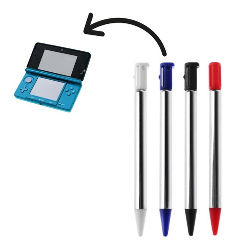 1x Lapiz Optico Stylus Nintendo 3ds Old Pequeña Stilus Metal