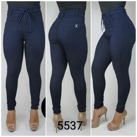 Legging Jeans Cintura Alta Feminina Envio Imediato 5537