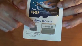 Cartao Memoria Sdxc Card Samsung 32 Gb Pro Class 10 90 Mb