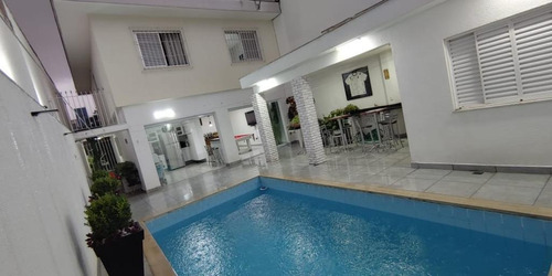 Sobrado Com Piscina, Área Gourmet, 3 Dormitórios Sendo 1 Suíte E 4 Vagas À Venda, 210 M² Por R$ 1.150.000 - Imirim - São Paulo/sp - So2278