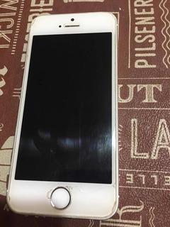 iPhone 5s Con Vidrio Templado Con Detalle , Funda Y Film