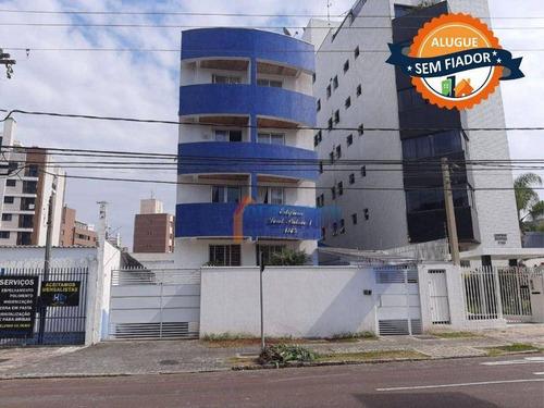 Apartamento Com 1 Dormitório Para Alugar, 34 M² Por R$ 1.300,00/mês - Juvevê - Curitiba/pr - Ap0537