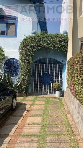 Imagem 1 de 30 de Casa Para Venda, 4 Dormitórios, Vila Andrade - São Paulo - 3563