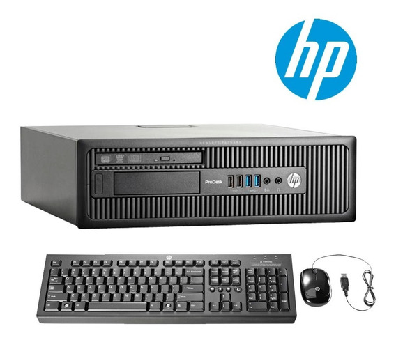 Potente Cpu Hp 600 G2 Core I5 6ta Generacion 8gb Ddr4 Wifi