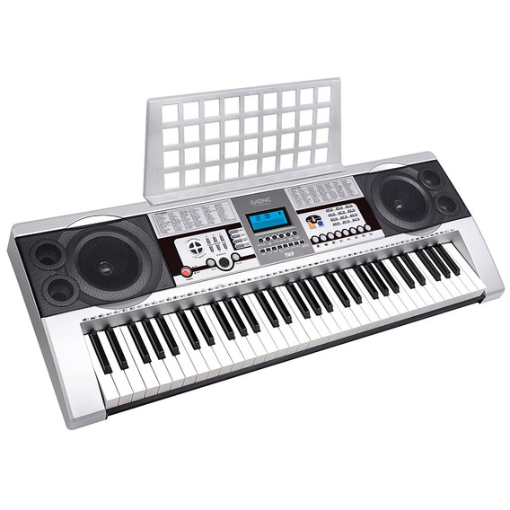 Teclado Musical Electronico Gadnic T03cargador 61 Teclas