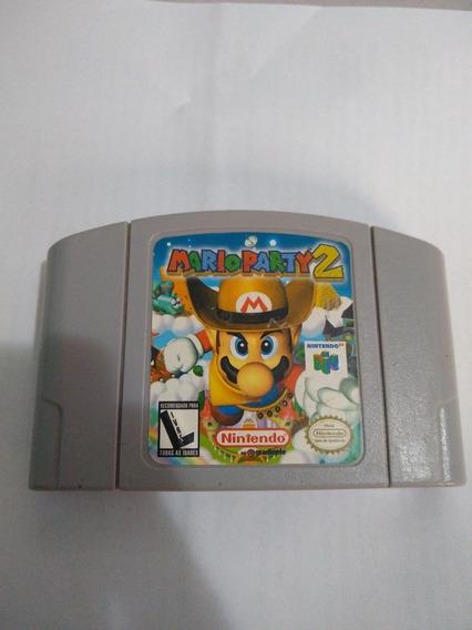 Mario Party 2 N64 Original Americano