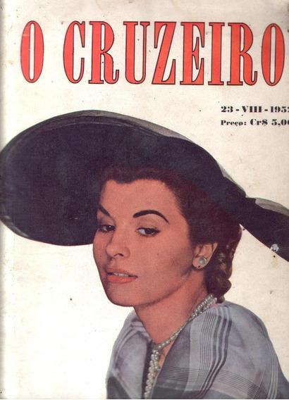 O Cruzeiro 1952.ouro Na Guianas.baependi.araguari.gracie.
