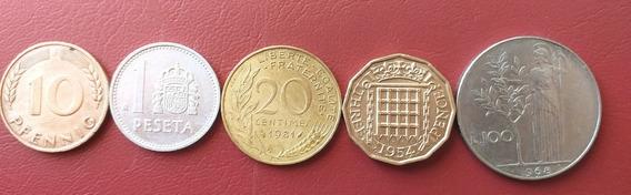 Monedas De Europa 3 Francia Y Otros