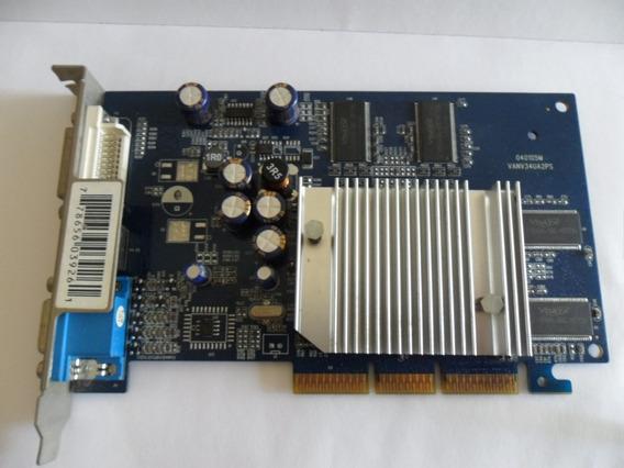 Tarjeta De Video Agp Nvidia Geforce Fx 5200 256mb