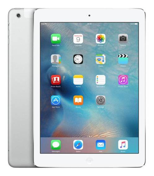 Apple iPad Air 1 A1474 Wi-fi 16gb Ios 12 Nacional I Vitrine
