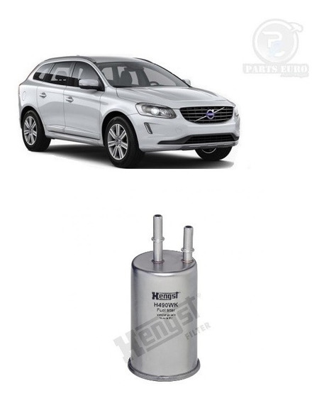 Filtro Combustivel Alemão Hengst Volvo Xc60 2.0 T5 / 3.0 T6