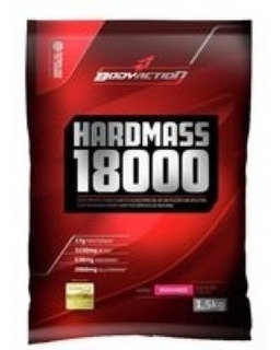 Hipercalórico Hard Mass (1.5kg) 18000 Morango - Body Action