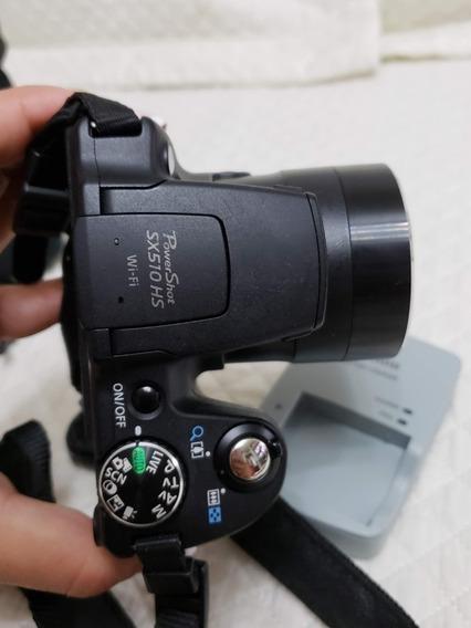 Máquina Câmera Digital Canon Powershot Sx510 Hs