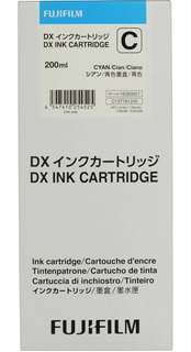 Cartucho Tinta Vividia Para Fuji Frontier Dx-100 Cyan