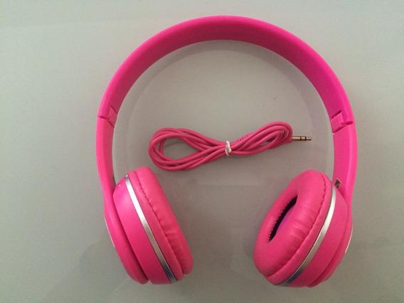 Promoção! Fone De Ouvido Inova Com Microfone Rosa