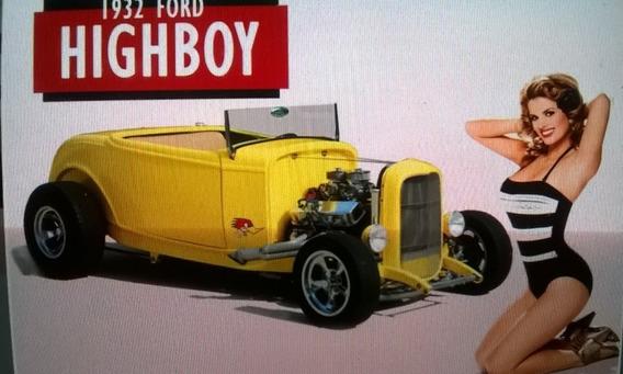 Kit Completo Hot Rod Hiboy 1932 + Mecânica *venda Parcelada