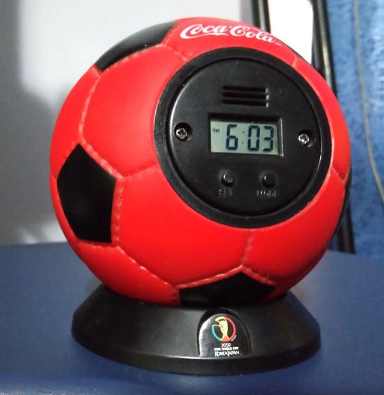 Reloj Despertador Balón Coca Cola