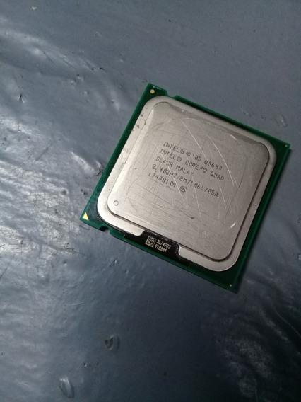 Processador Intel Core2quad 2.40ghz-troco Em Placa De Video