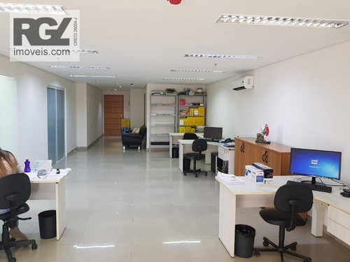 Sala, 150 M² - Venda Por R$ 1.190.000,00 Ou Aluguel Por R$ 6.000,00/mês - Centro - Santos/sp - Sa0254