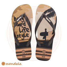 Chinelo Mandala Bodyboard Life Style