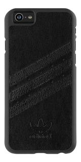 Funda Stripes adidas iPhone 6s Plus, 6 Plus Negro Mate