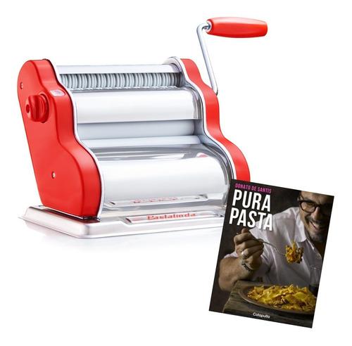 Pastalinda Clásica Roja + Libro Pura Pasta Donato De Santis