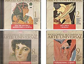 Cds 4 Arte Universal Cubismo Romantismo Arte Grega Egípcia.