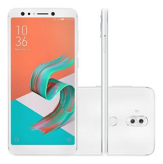 Smartphone Asus Zenfone 5 Selfie Pro Zc600kl 128gb Octa Core Câmera Dupla 16mp+8mp Tela 6.0 , Branco